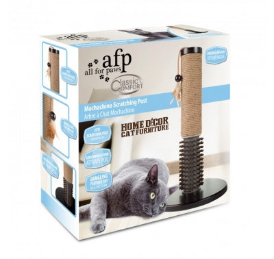 AFP Classic Comfort Moschachina Scratch Post with Bristles