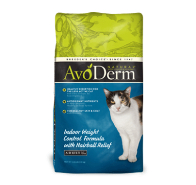 Avoderm Natural Indoor Weight Control Formula
