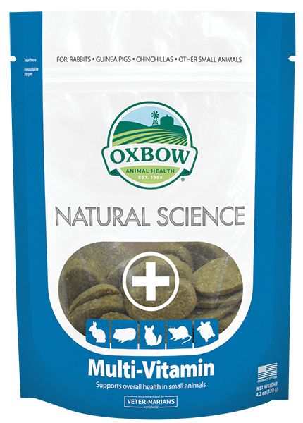 Oxbow Natural Science - Multi-Vitamin 60ct