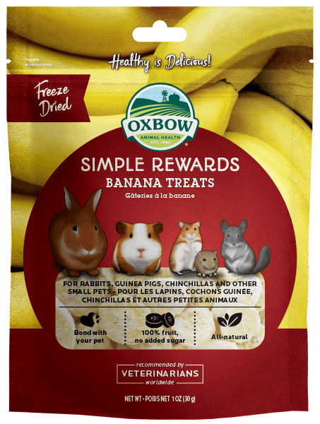 Oxbow Banana Treat 1oz