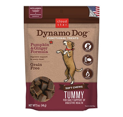 Cloudstar Dynamo Dog Tummy Pumpkin & Ginger 5oz