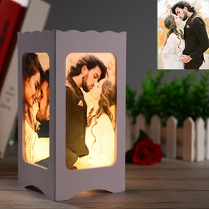 CUSTOM AMBIENT NIGHT LAMP WITH FOUR PICTURES