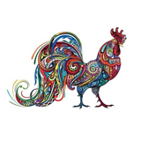 Rooster Jigsaw Puzzle(Best Seller)