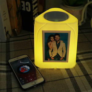 7 Color Changing Photo Night Light Bluetooth-Audio