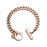 The Love of Brooklyn Curb Chain Bracelet