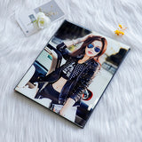 Personalized crystal photo album