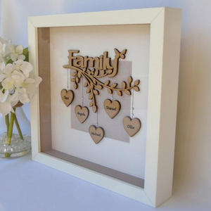 Personalized Family Tree With Frame