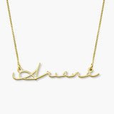 Mon Petit Name Necklace