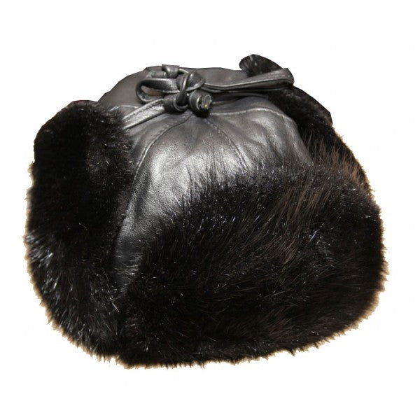 Men's Leather Trooper Hat