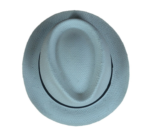 Angelo Straw Trilby Hat