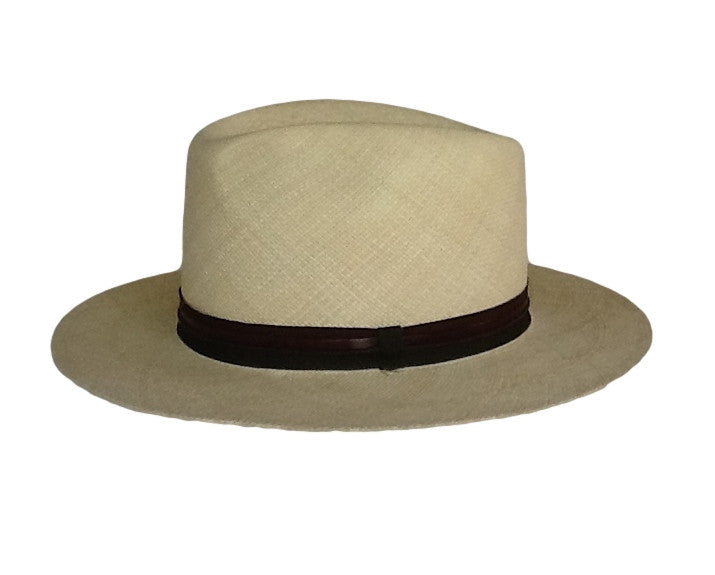 Lorenzo Panama Hat, medium brim