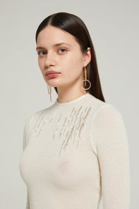 Montaine sparkly knit top