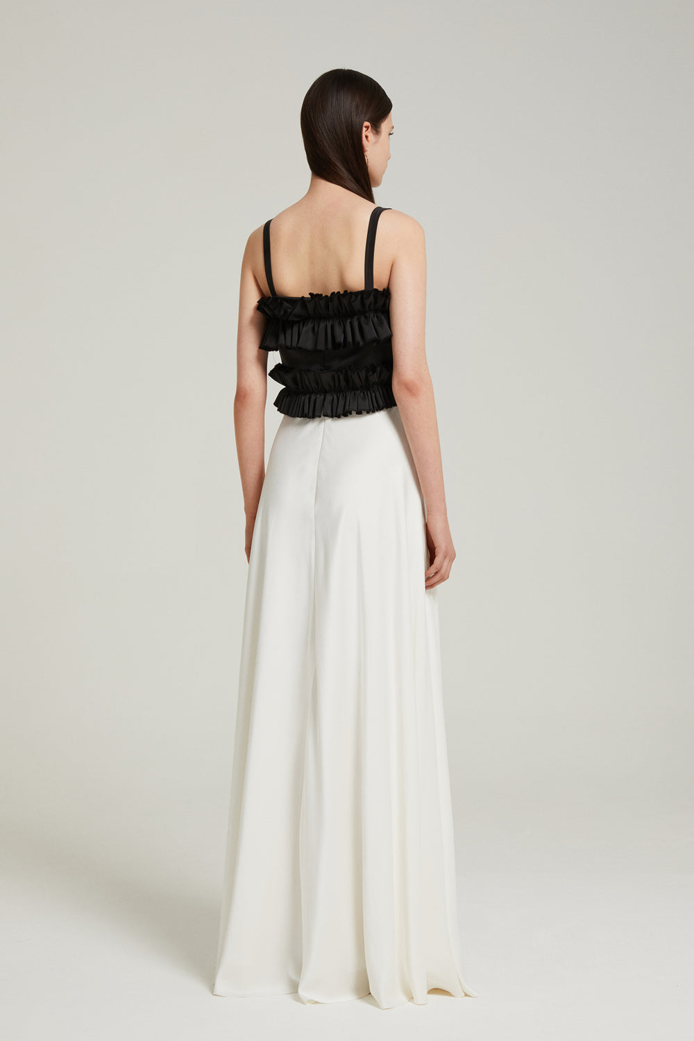Load image into Gallery viewer, Ruffle maxi dress