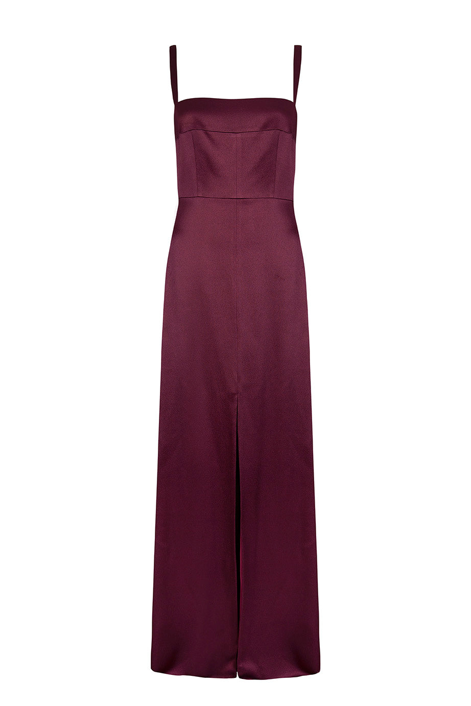 Load image into Gallery viewer, Square neck maxi dress