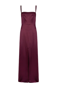 Square neck maxi dress