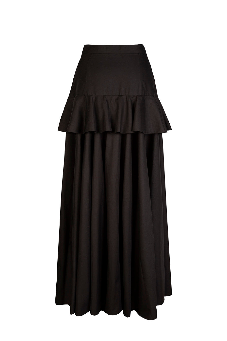 Load image into Gallery viewer, Peplum maxi skirt