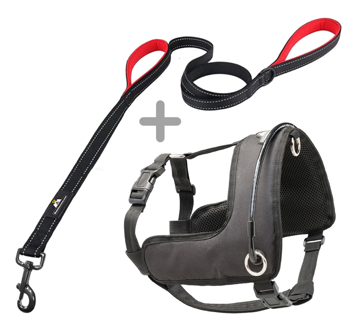 Halo Harness (M, L, XL) W/Leash Bundle