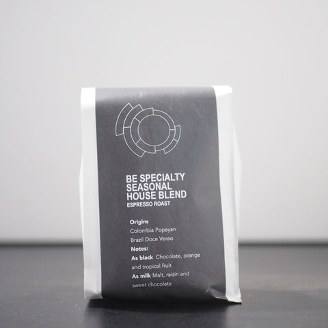 Be Specialty Seasonal House Blend (espresso)