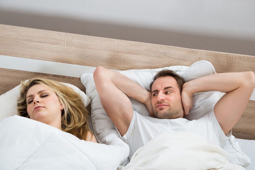 Second Hand Snoring health affects