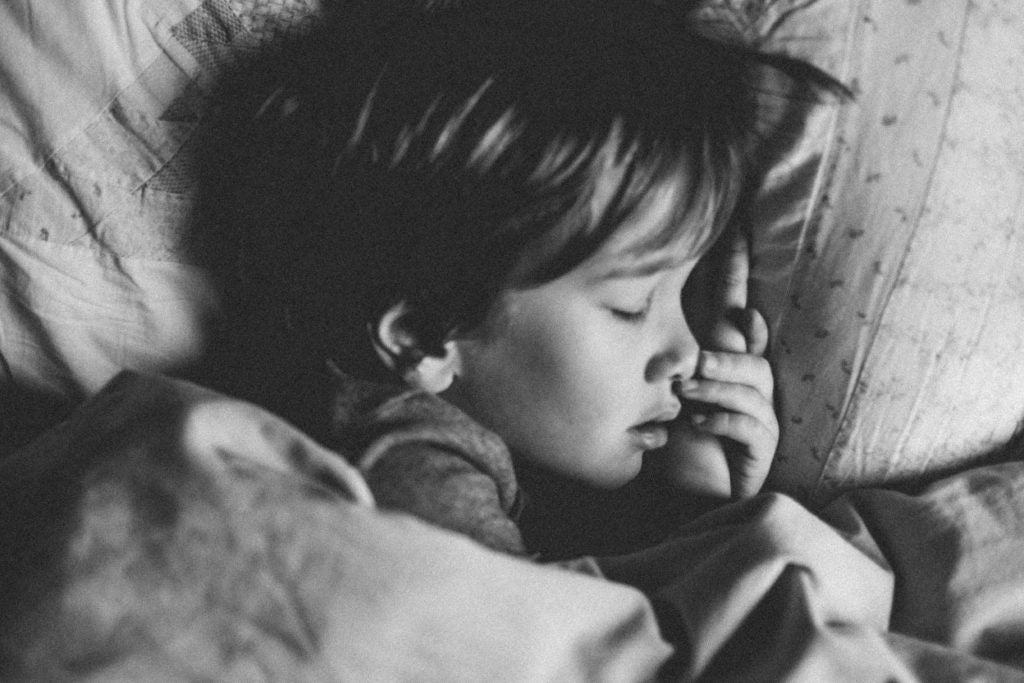 Snoring in kids is a health indicator