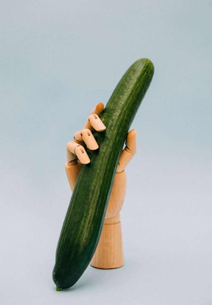 Mens sexual health Cucumber