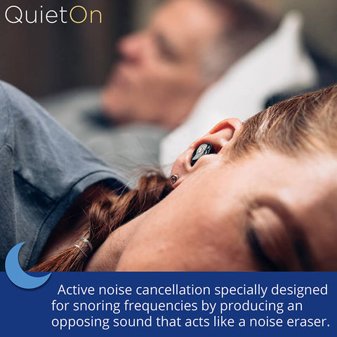 QuietOn Snore Cancelling Earbuds Sale Offer