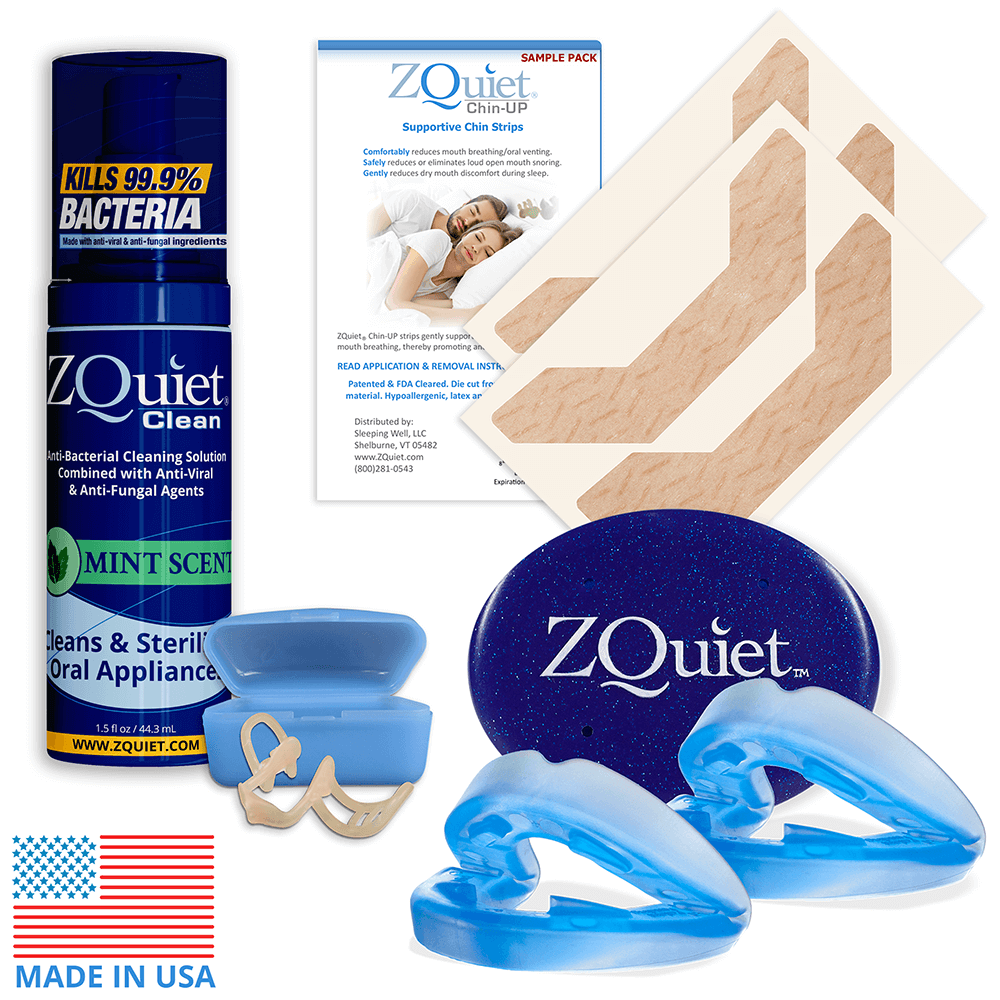 ZQuiet Snoring Elimination Set