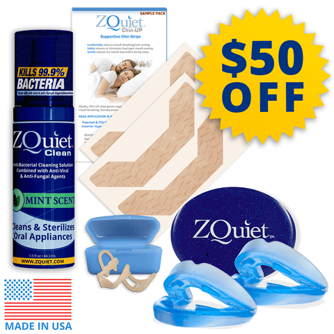 ZQuiet Snoring Elimination Set Special Offer