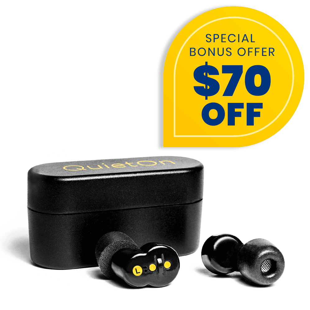 QuietOn Snore Cancelling Earbuds Bonus Offer