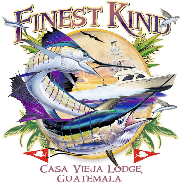 Casa Vieja Lodge Finest Kind Long Sleeve Dri-Fit Shirt
