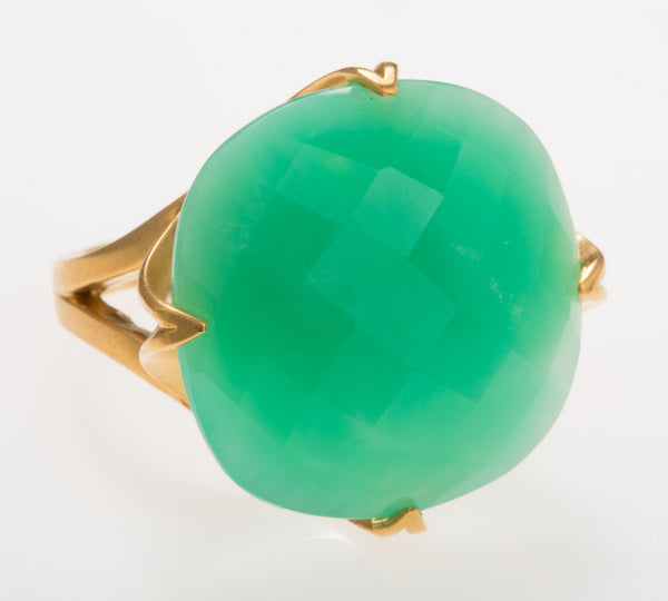Madison Chrysoprase Ring