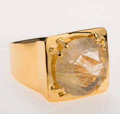 Tortuga Rutilated Quartz Ring