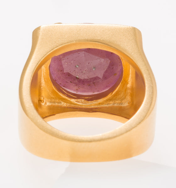 Tortuga Pink Sapphire Ring