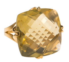 Madison Lemon Citrine Ring