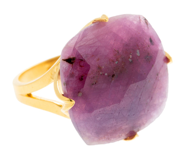 Madison Pink Sapphire Ring