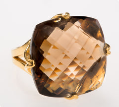 Madison Smoky Quartz Ring