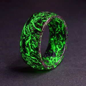 Urban Glow Ring™ Resin Glow in The Dark Ring