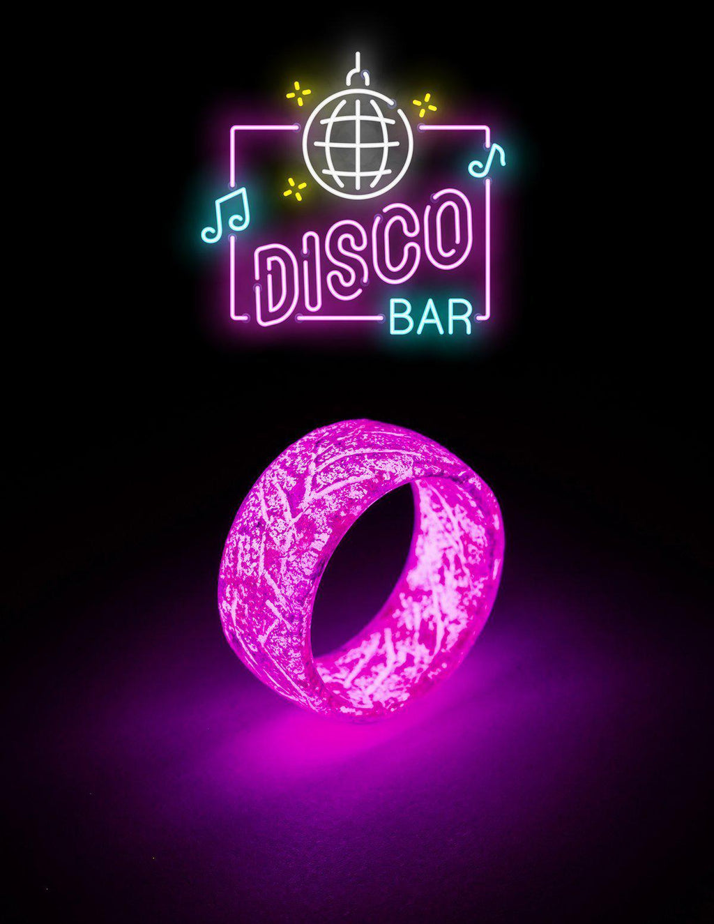 Disco Bar Urban Glow Ring™