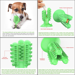 Dental Doggy™ Dog Teeth Cleaning Brush Toy