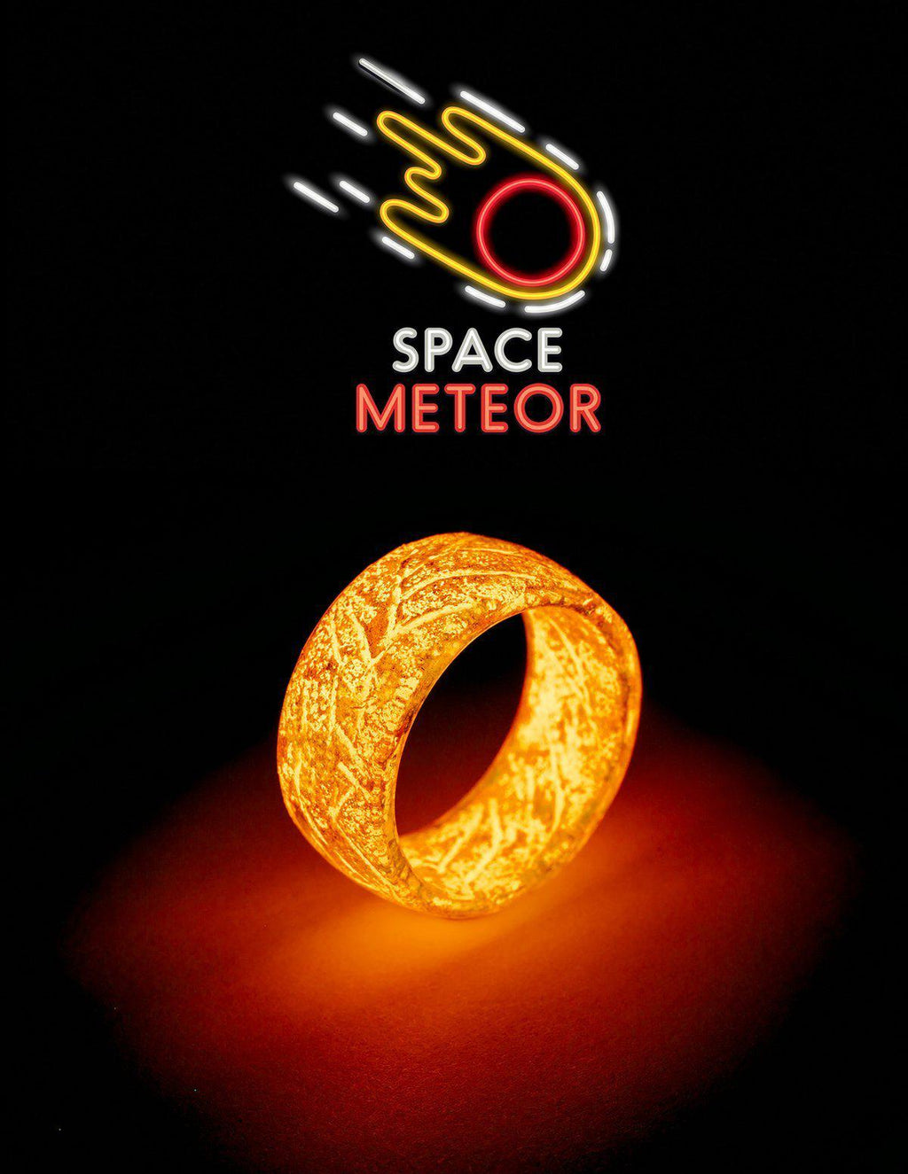 Space Meteor Urban Glow Ring