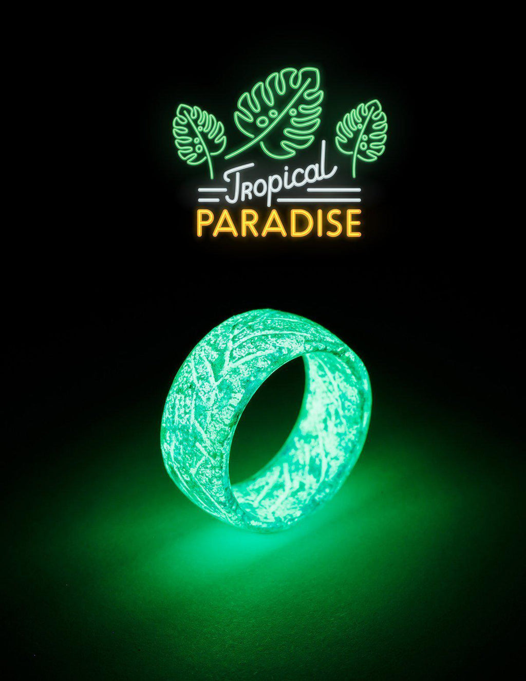 Tropical Paradise Urban Glow Ring