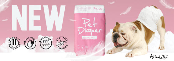 Altimate Pet Antibacterial Disposable Pet Diaper