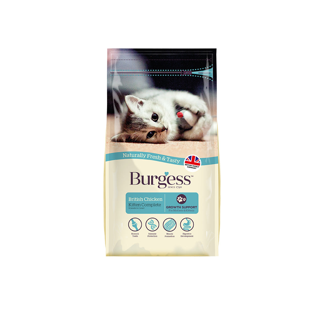 Burgess Kitten Chicken Cat Food 1.5kg