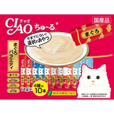 Ciao ChuRu Tuna Scallop Jumbo Mix Liquid Cat Treats 14g x 40 sachets