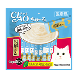 Ciao ChuRu Chicken Fillet & Sliced Bonito Liquid Cat Treats 14g x 20 sachets