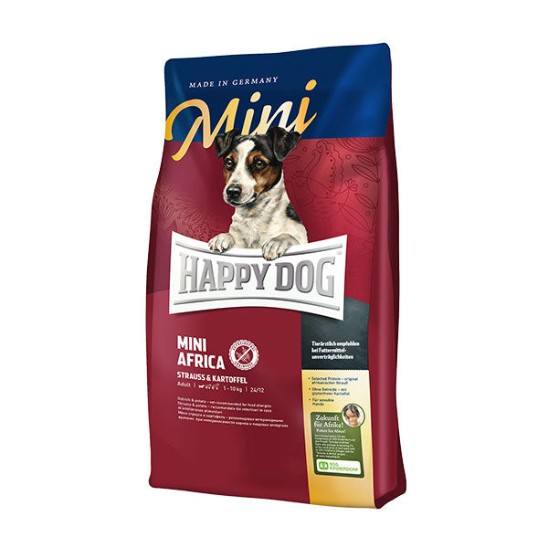 Happy Dog Supreme Mini Africa (Ostrich & Potato) Dog Dry Food