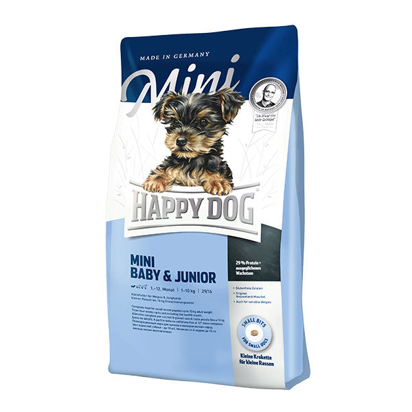 Happy Dog Supreme Mini Baby & Junior Dog Dry Food