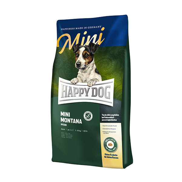 Happy Dog Supreme Mini Montana (Horse & Potato) Dog Dry Food