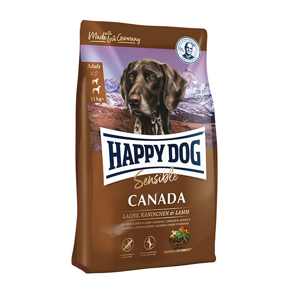 Happy Dog Supreme Sensible Canada (Salmon,Rabbit,Lamb & Potato) Dog Dry Food