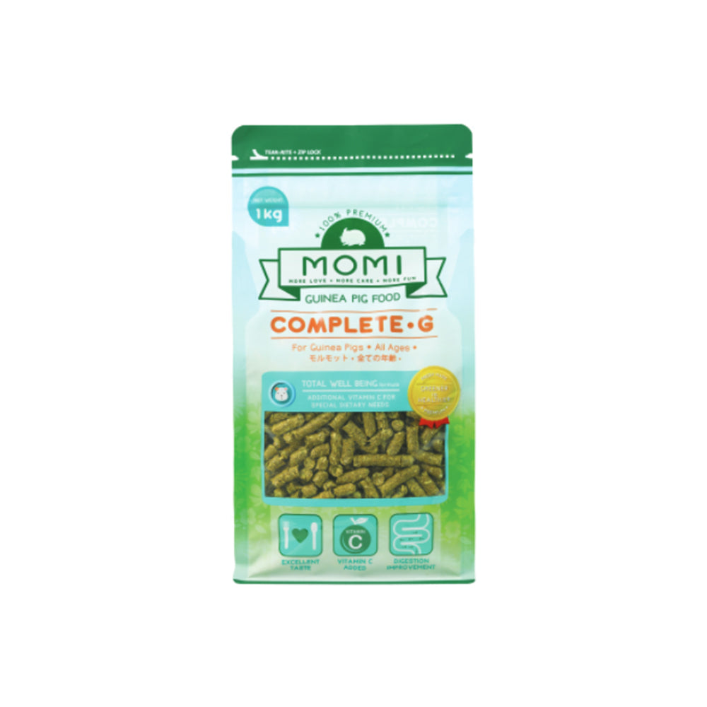 Momi Complete-G Guinea Pig Food